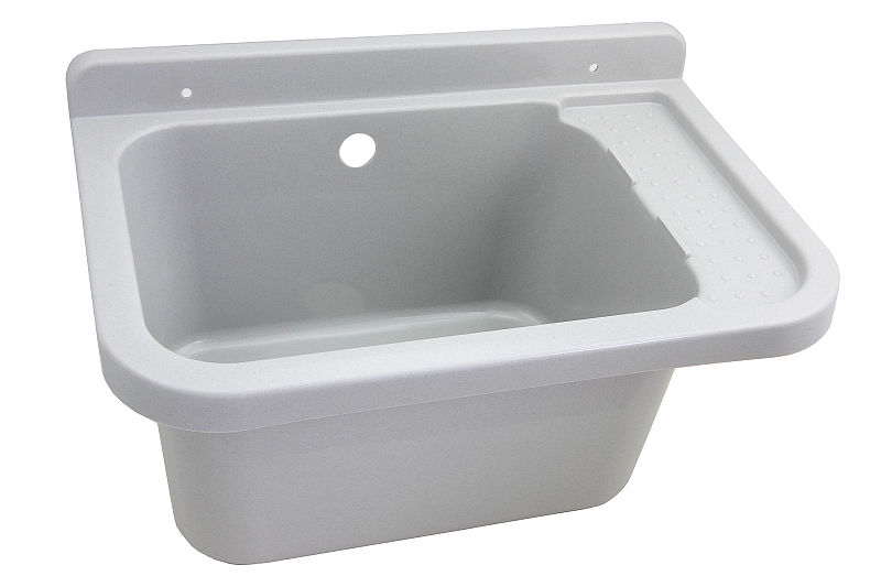 aussenbecken drau en waschbecken garten keller waschk che werkstatt sp lbecken ebay. Black Bedroom Furniture Sets. Home Design Ideas
