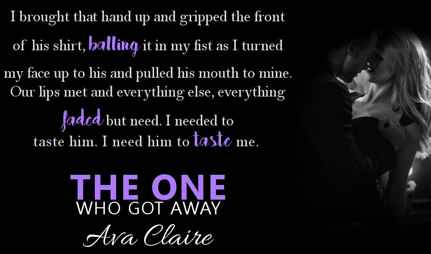 The One That Got Away by Ava Claire teaser 1