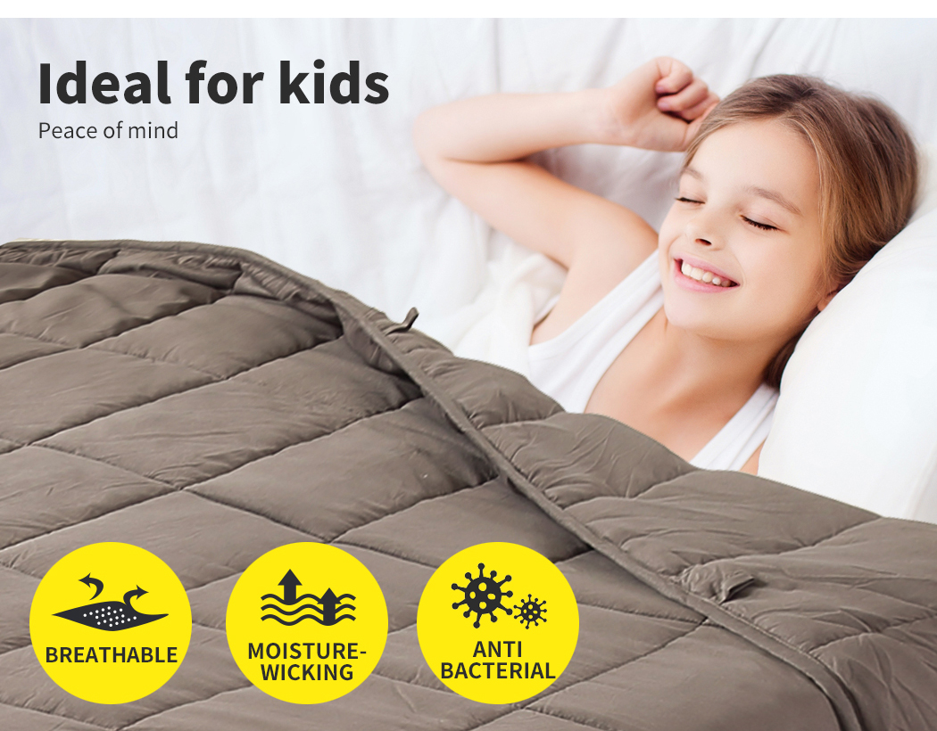 thumbnail 27 - DreamZ Weighted Blanket Heavy Gravity Deep Relax 5/7/9KG Adult Kid Double Queen