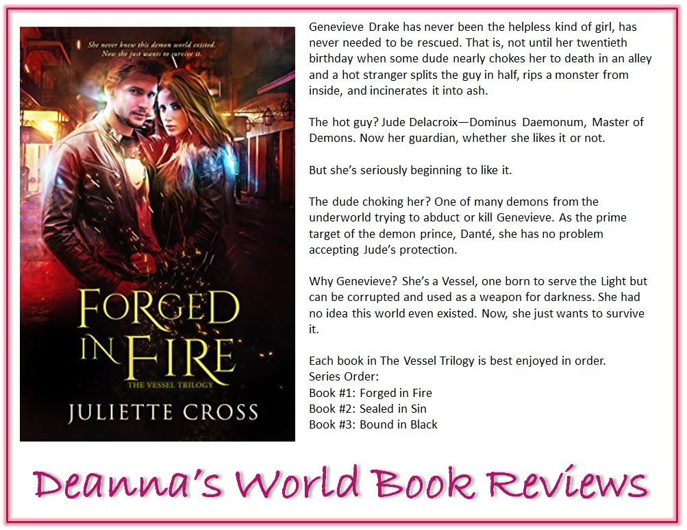 Forged In Fire by Juliette Cross blurb