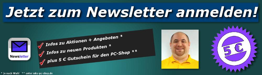 Erhalten Sie aktuelle Angebote + Infos zum Online-Shop - direkt per Mail.