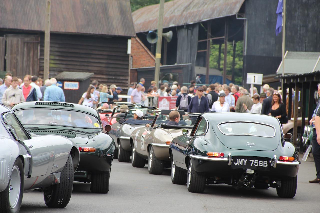 Celebrating 60 years of the Jaguar E-type at Shelsley Walsh Hillclimb