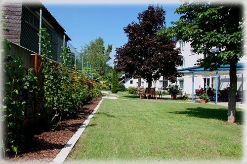 Garten Ansicht Ost