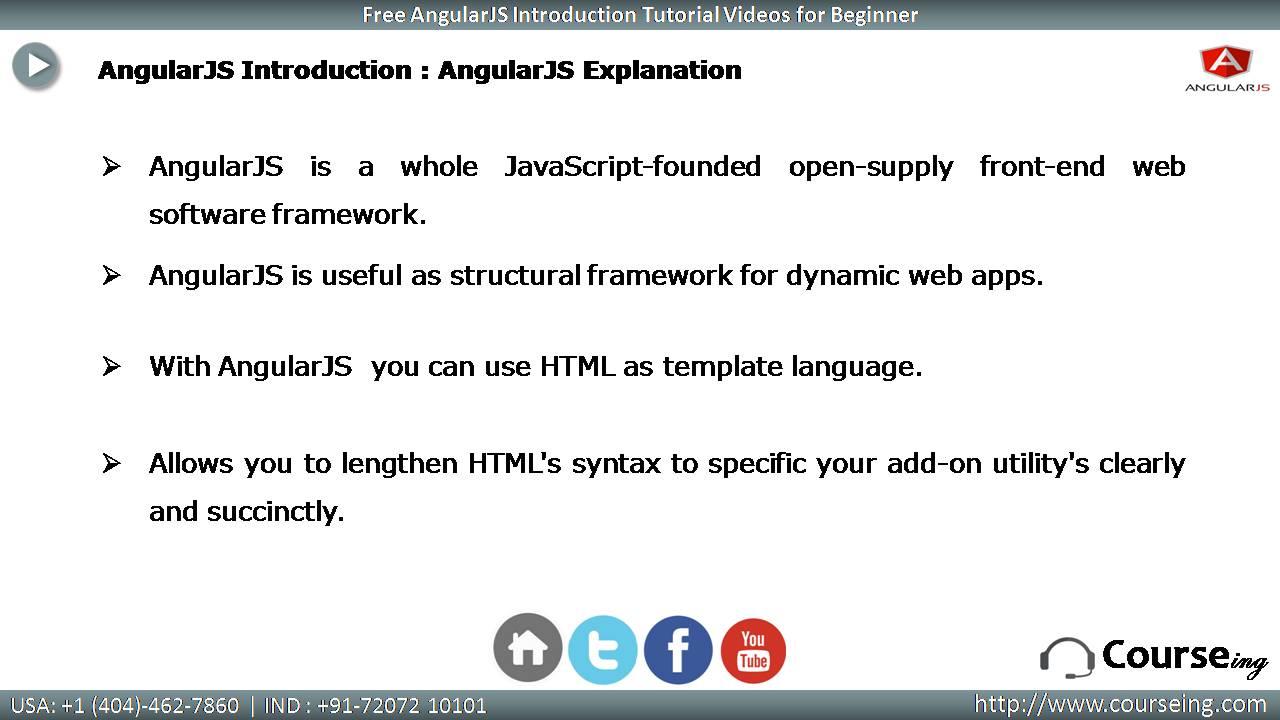 AngularJs 2 Explanation