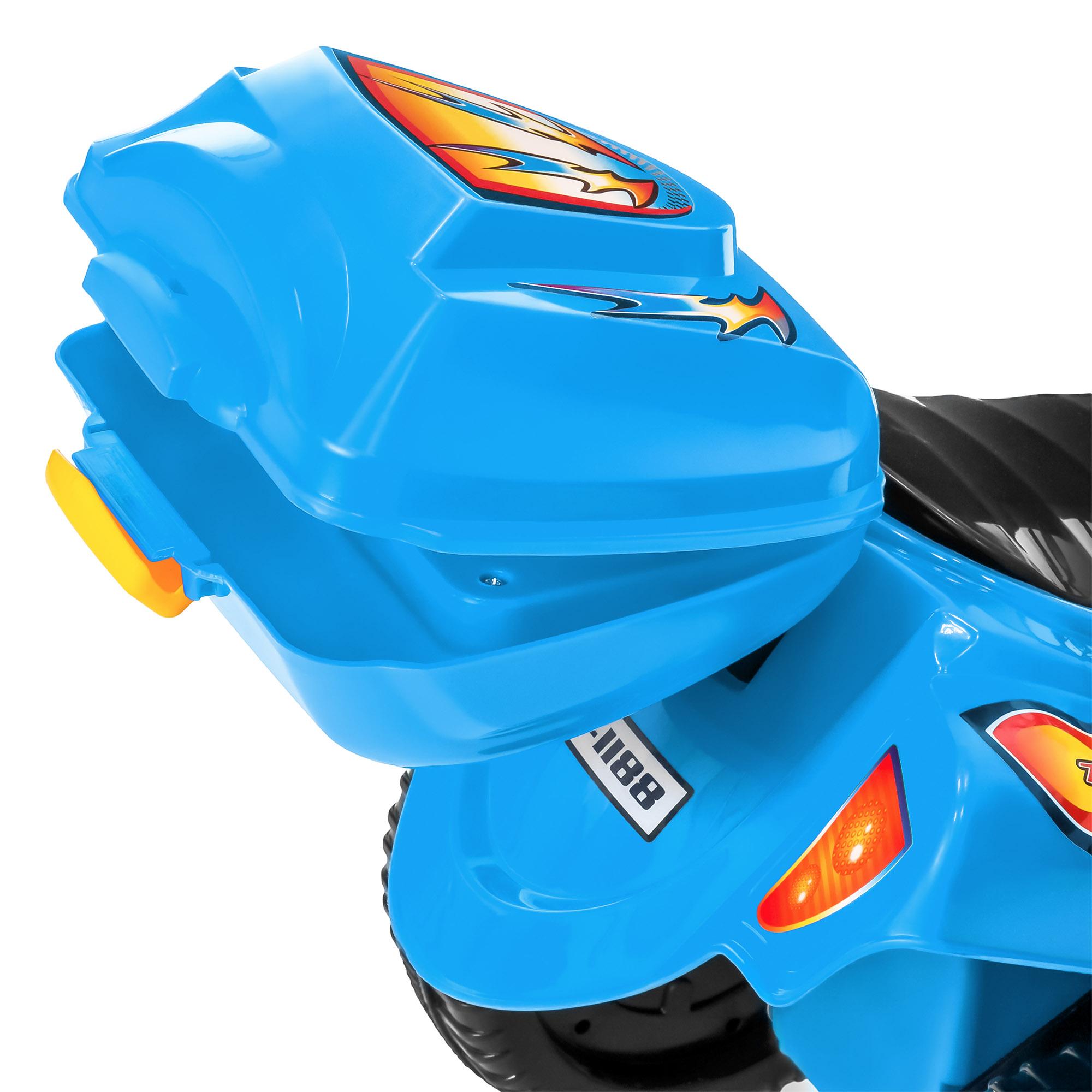 BCP-6V-Kids-3-Wheel-Motorcycle-Ride-On-Toy-w-LED-Lights-Music-Storage thumbnail 16