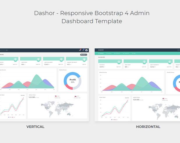 Dashor - Admin Dashboard Template - 1