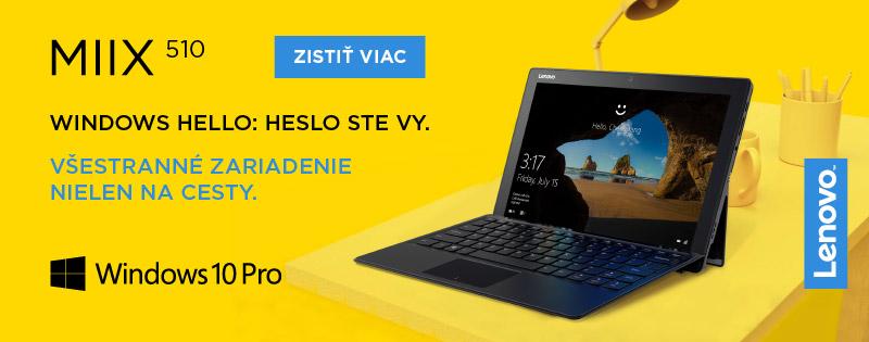 Lenovo IdeaTab Miix 510 – Všestranný tablet a notebook v jednom!