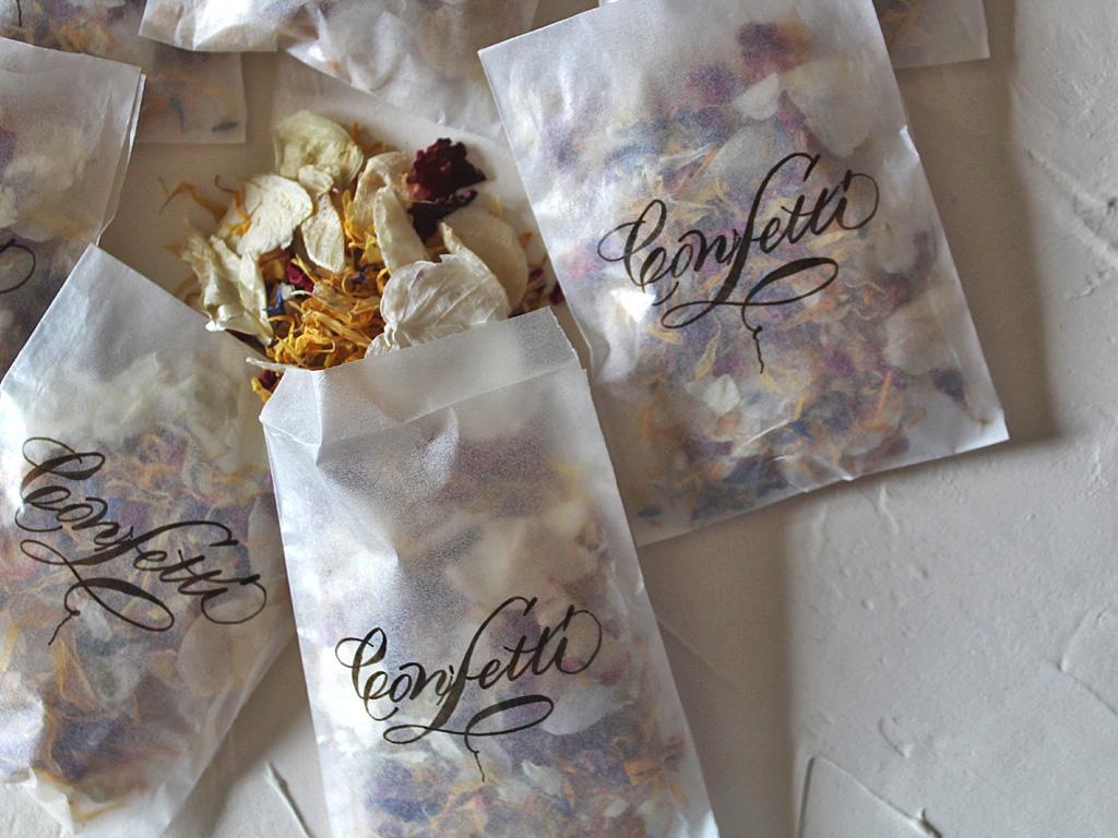 Confetti bags