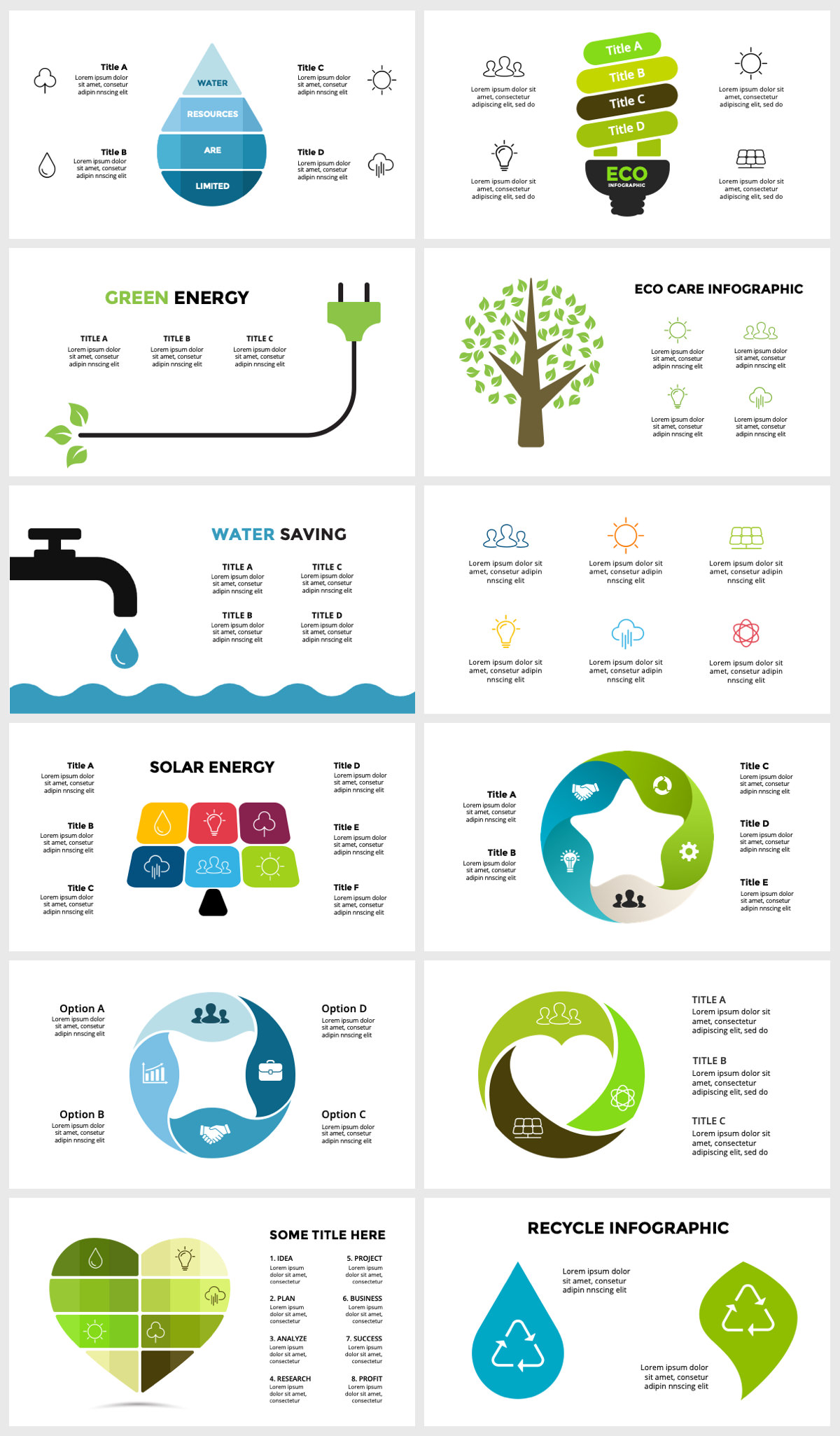 Huge Infographics Bundle! Lifetime Updates! PowerPoint, Photoshop, Illustrator. - 198