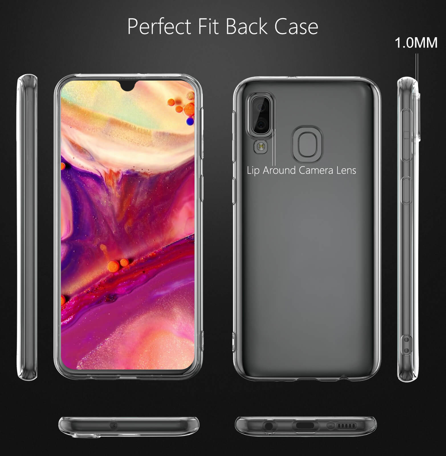 For-Samsung-Galaxy-S10-S9-S8-Case-Shockproof-Silicone-Protective-Clear-Gel-Cover thumbnail 59