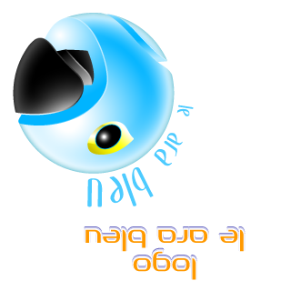 Etude du logo le Ara bleu