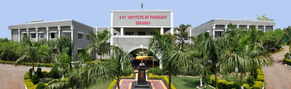 GRY Institute of Pharmacy, Khargone
