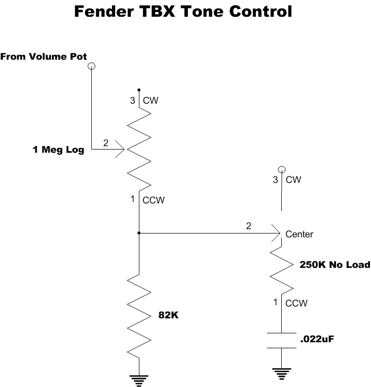 Modified Tbx Tone Control