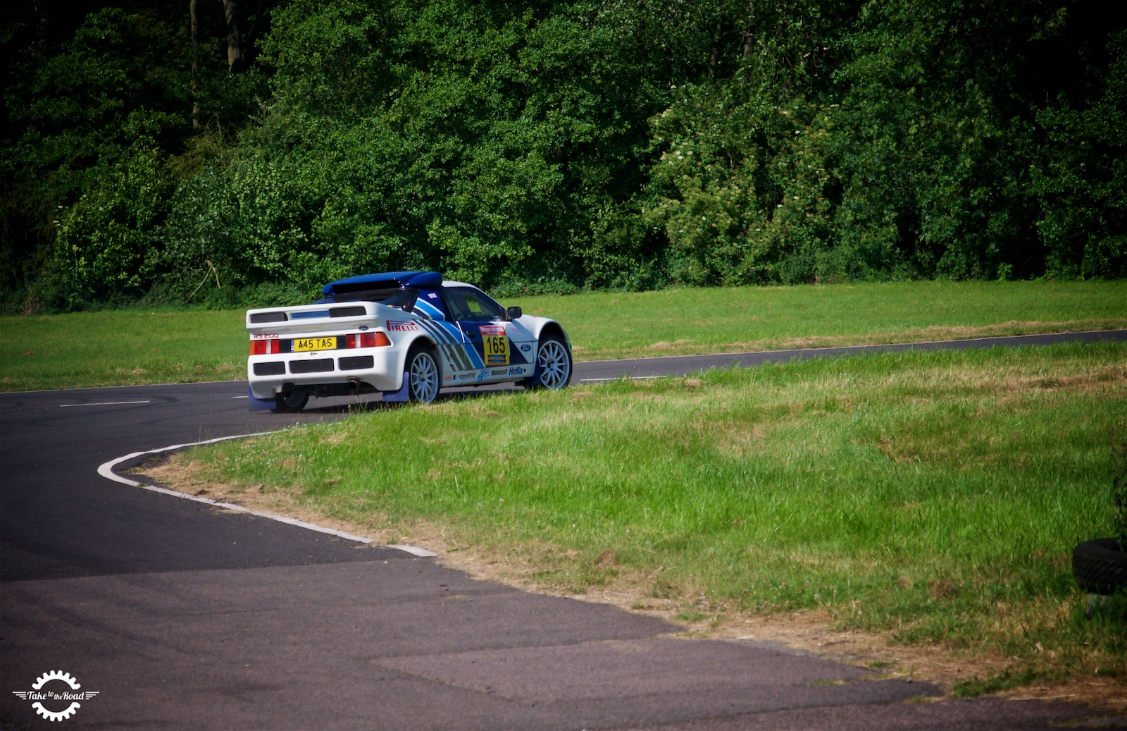 Take to the Road Feature Passenger ride in a 1984 Ford RS200