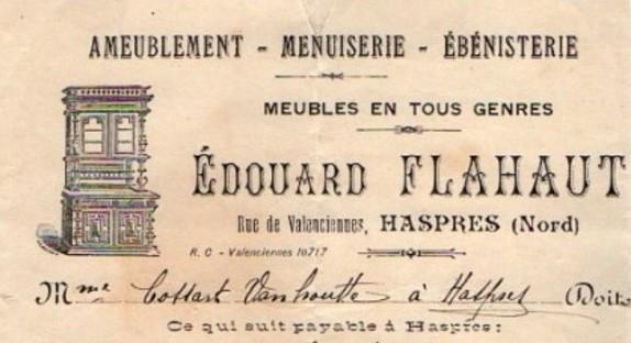 Haspres - Edouard Flahaut