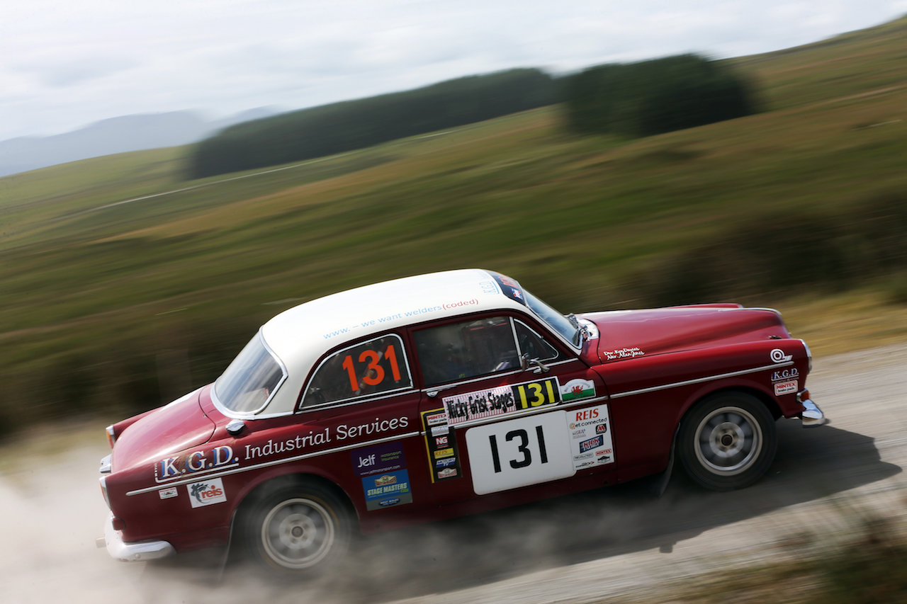 Take to the Road News Volvo Amazon Warrior's Welsh Forest Rallying Call