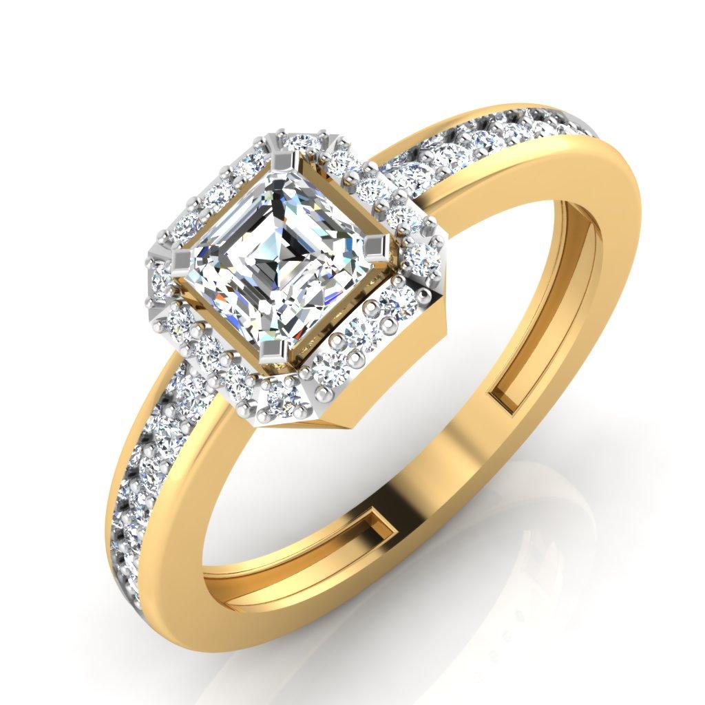 The Antonio Emerald Solitaire Ring