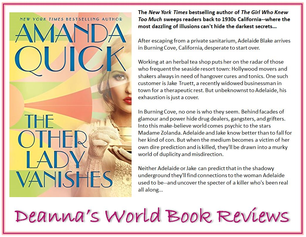 The Other Lady Vanishes by Amanda Quick blurb