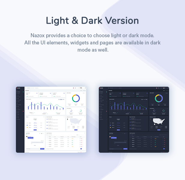 Nazox - React Admin & Dashboard Template - 2