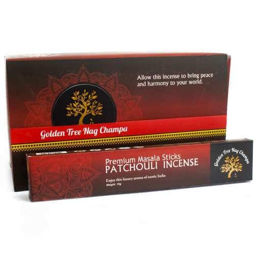 golden tree premium nag champa incense - patchouli