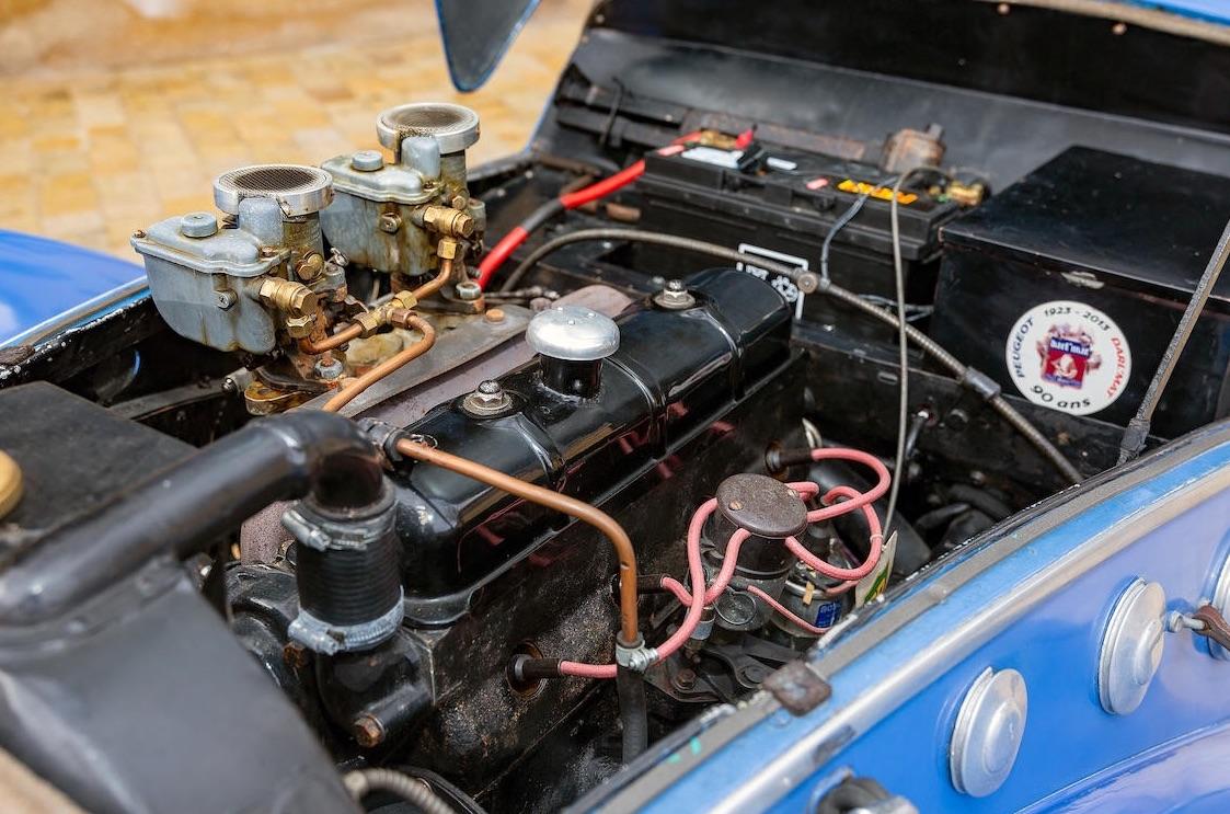 Rare 1938 Peugeot 402 Darl'mat Special Sport set for Bonhams sale