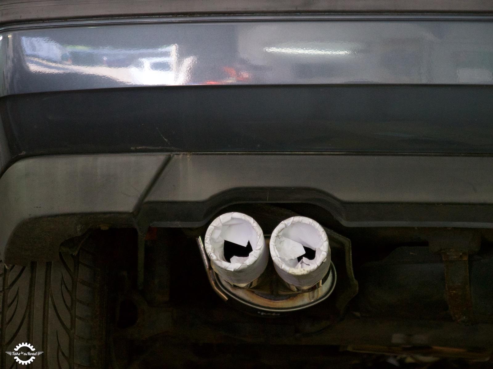 VW Golf Mk3 GTi Jetex Exhaust Install Guide