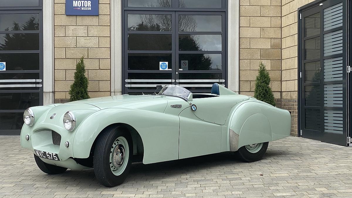 British Motor Museum acquires record breaking Triumph TR2 prototype