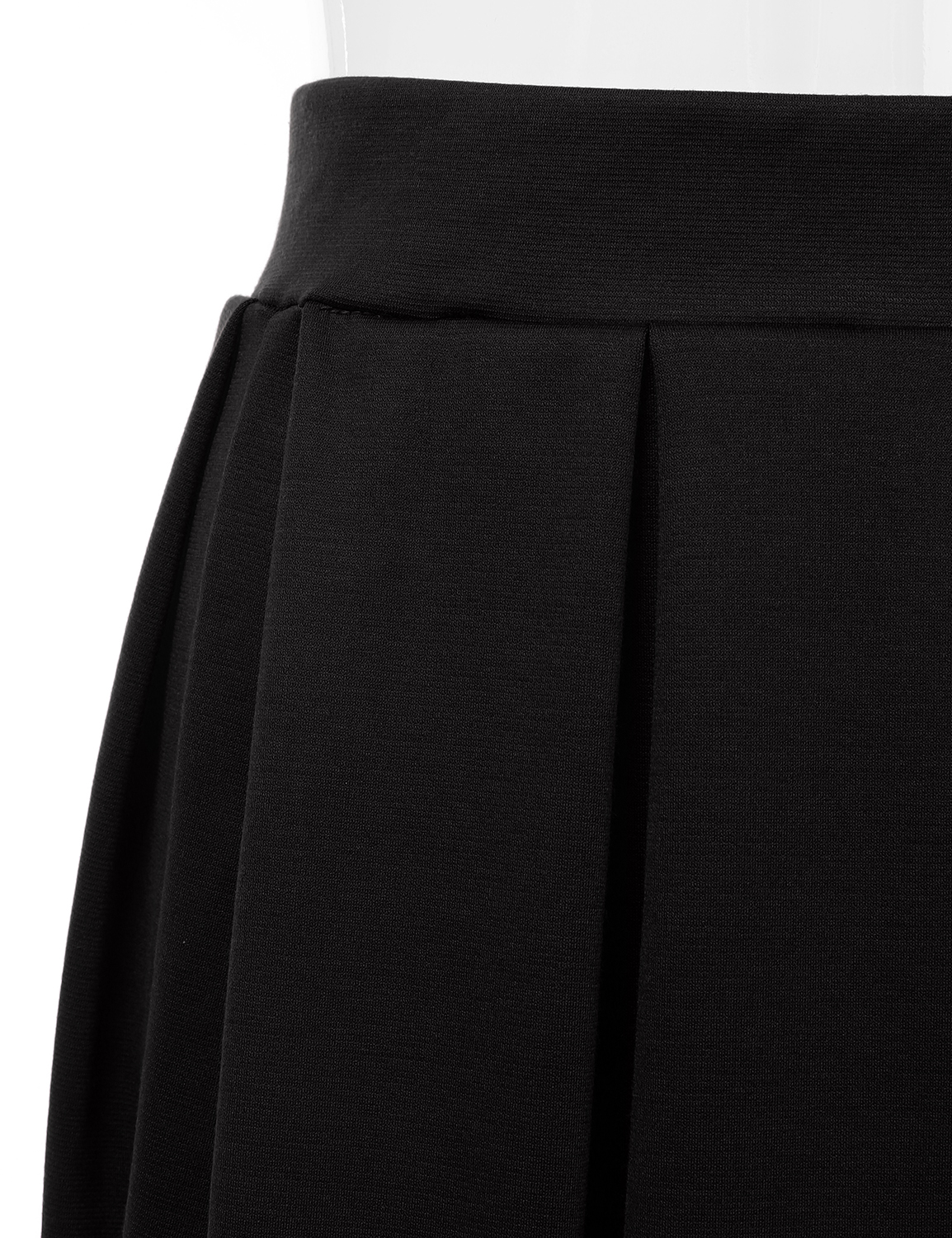Doublju-Elastic-Waist-Flare-Pleated-Skater-Midi-Skirt-for-Women-with-Plus-Size thumbnail 28