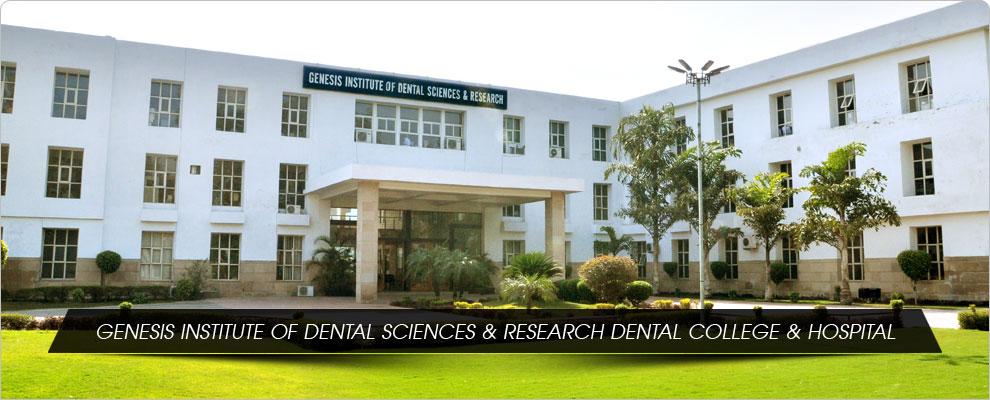 Genesis Institute of Dental Sciences and Research, Ferozepur