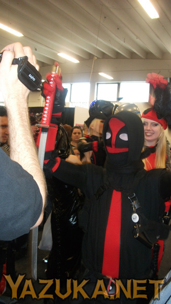 Ninja Deadpool! He was awesome!