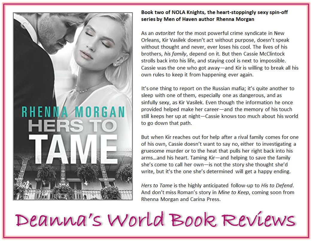 Hers To Tame by Rhenna Morgan blurb