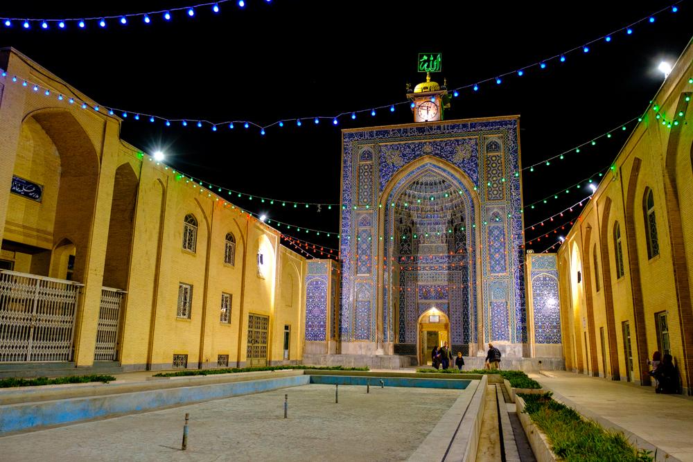 De moskee van Kerman
