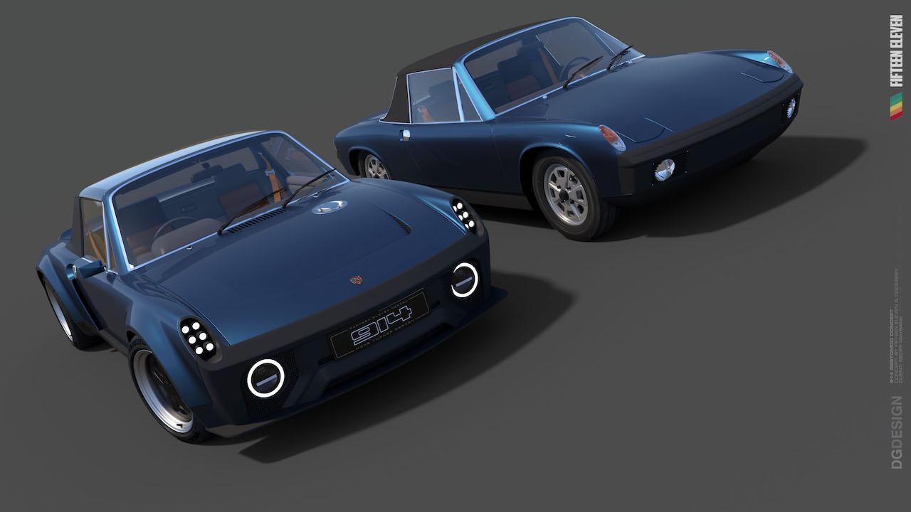 Fifteen Eleven Design announce new take on the Porsche 914
