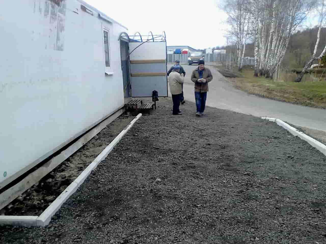Подольский клуб голубеводов, ремонт продаолжается
