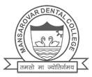 Mansarover Dental College, Bhopal