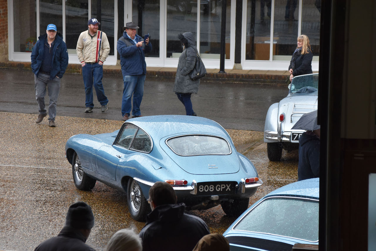 E-Type UK and DM Historics first Coffee Cake and Classics Event a success