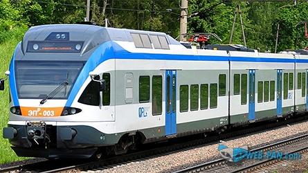 Новый поезд с диким расписанием, надеемся на лучшее!