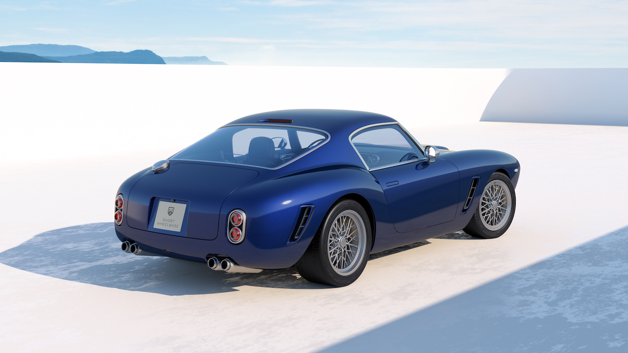 More details released on RMLs Ferrari powered Short Wheelbase