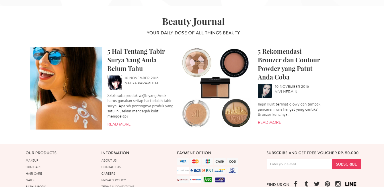 Sociolla Beauty Journal