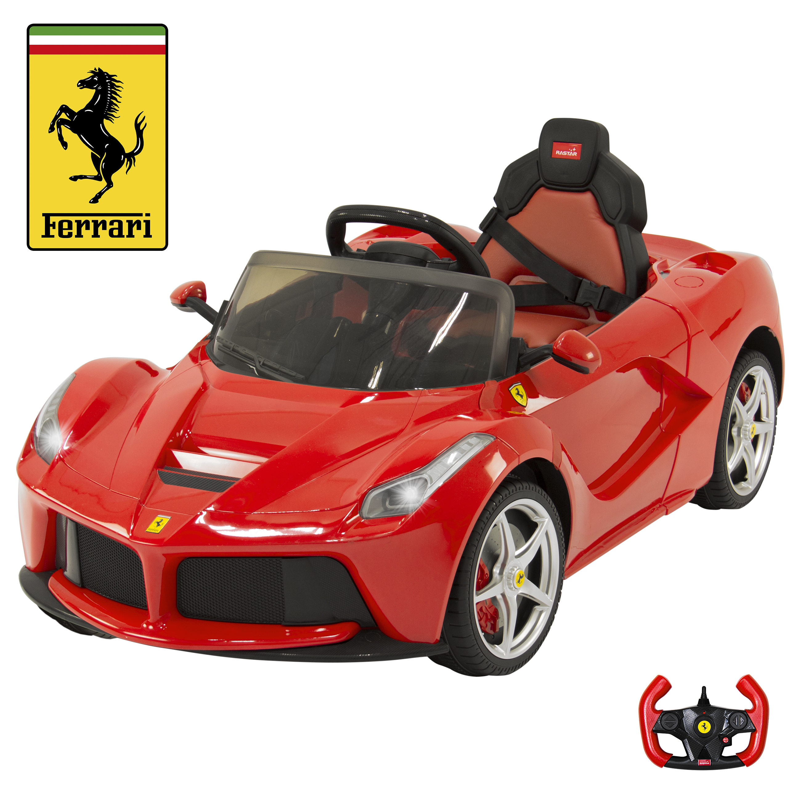 Bentley Gtc 12v Ride On Kids Battery Power Wheels Car Rc: 12V Electric Kids Ride On LaFerrari RC Remote Control Car
