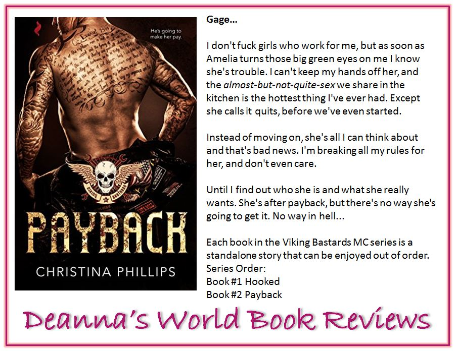 Payback by Christina Phillips blurb