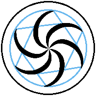 Witch of Space God Symbol, For attachment to LODAD fic on AO3.