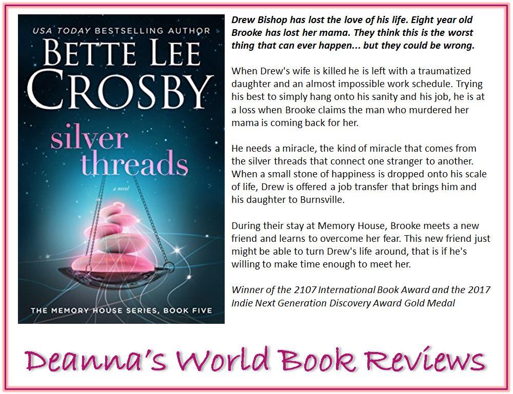 Silver Threads by Bette Lee Crosby blurb