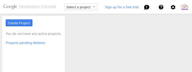 Create Project