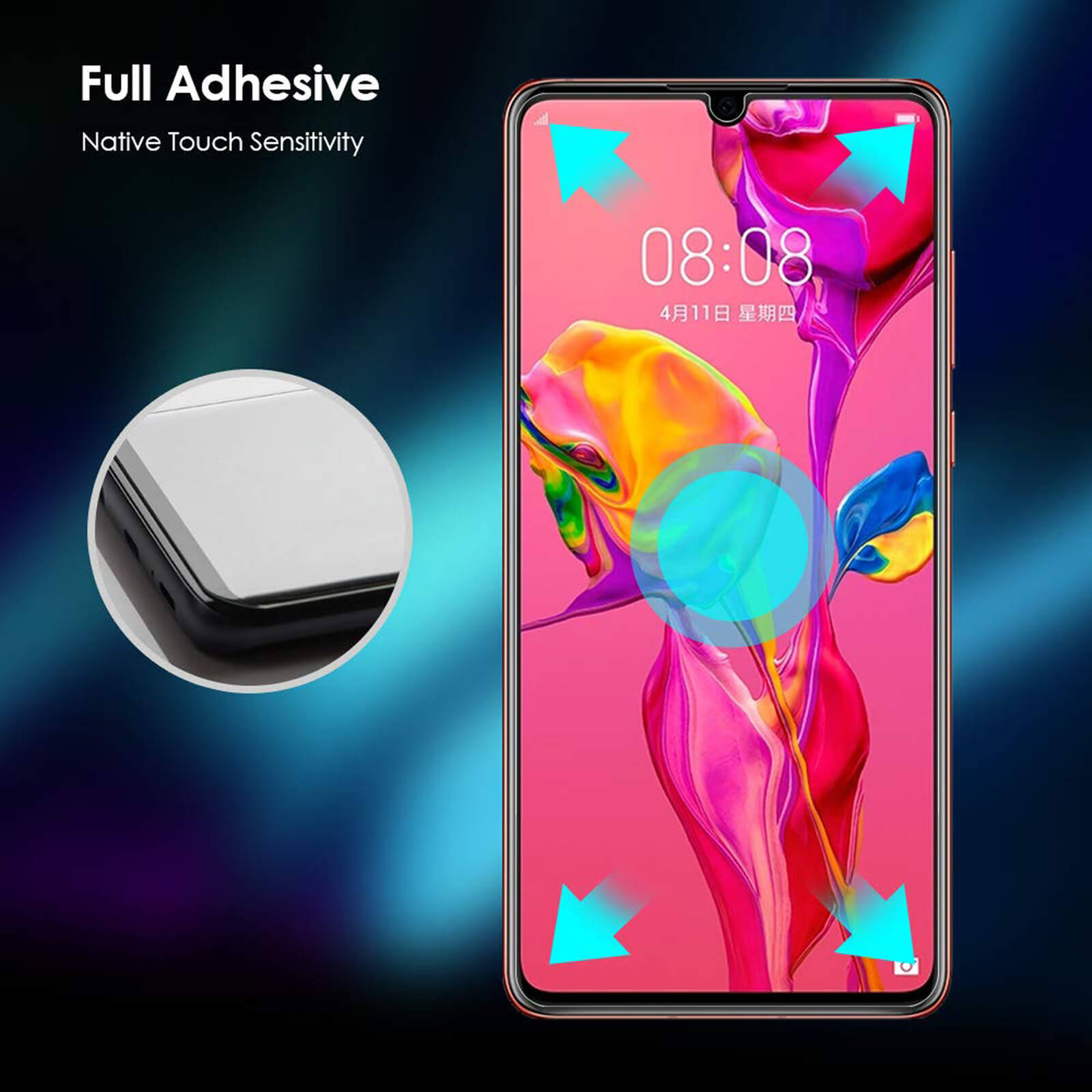 For-Huawei-Tempered-Glass-New-Full-Screen-Protector-Mate-20-P20-P30-Pro-Lite thumbnail 18