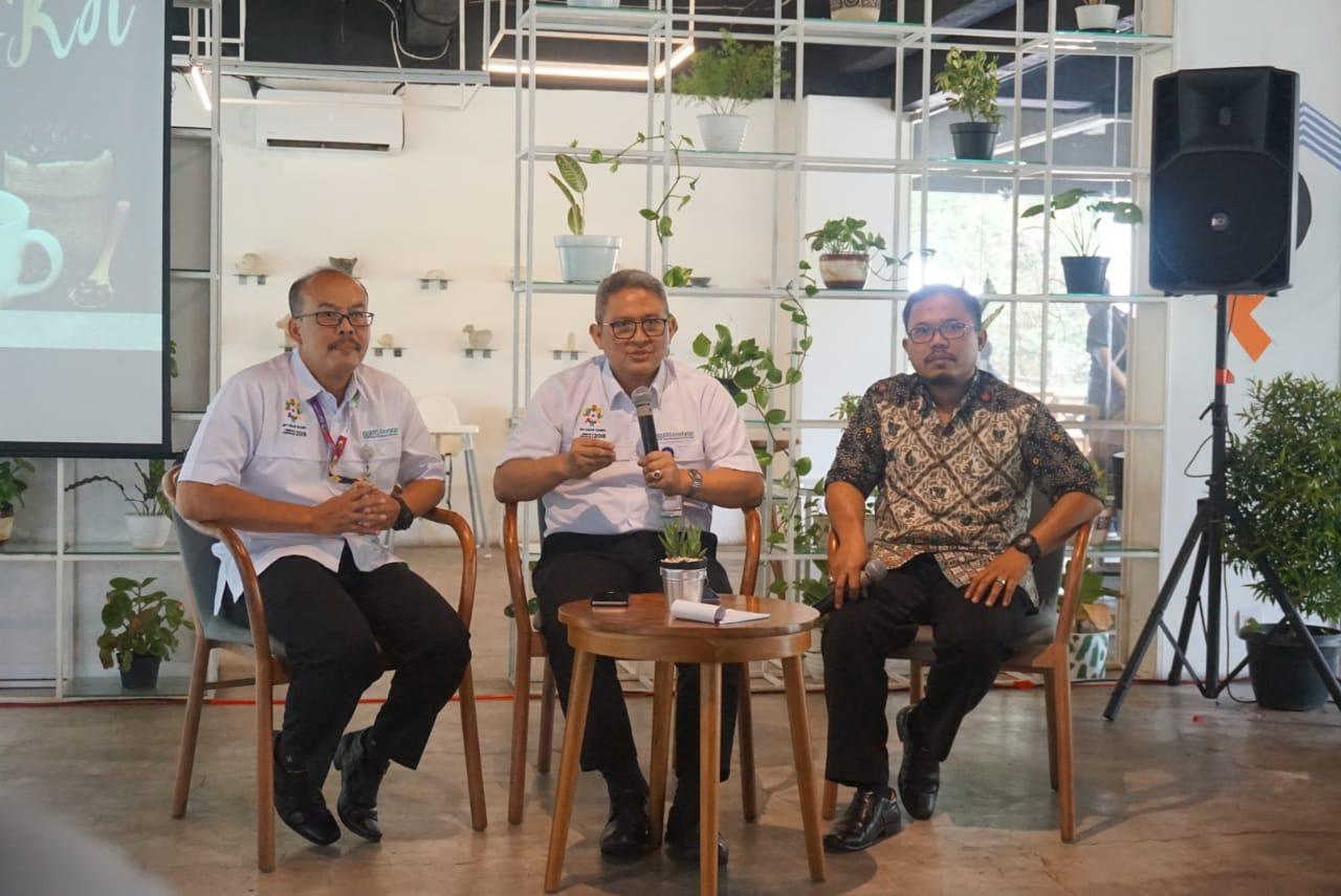 ki-ka: Arief Syaefuddin - Budi Mohammad Arief - Iqbal Anas Ma'ruf