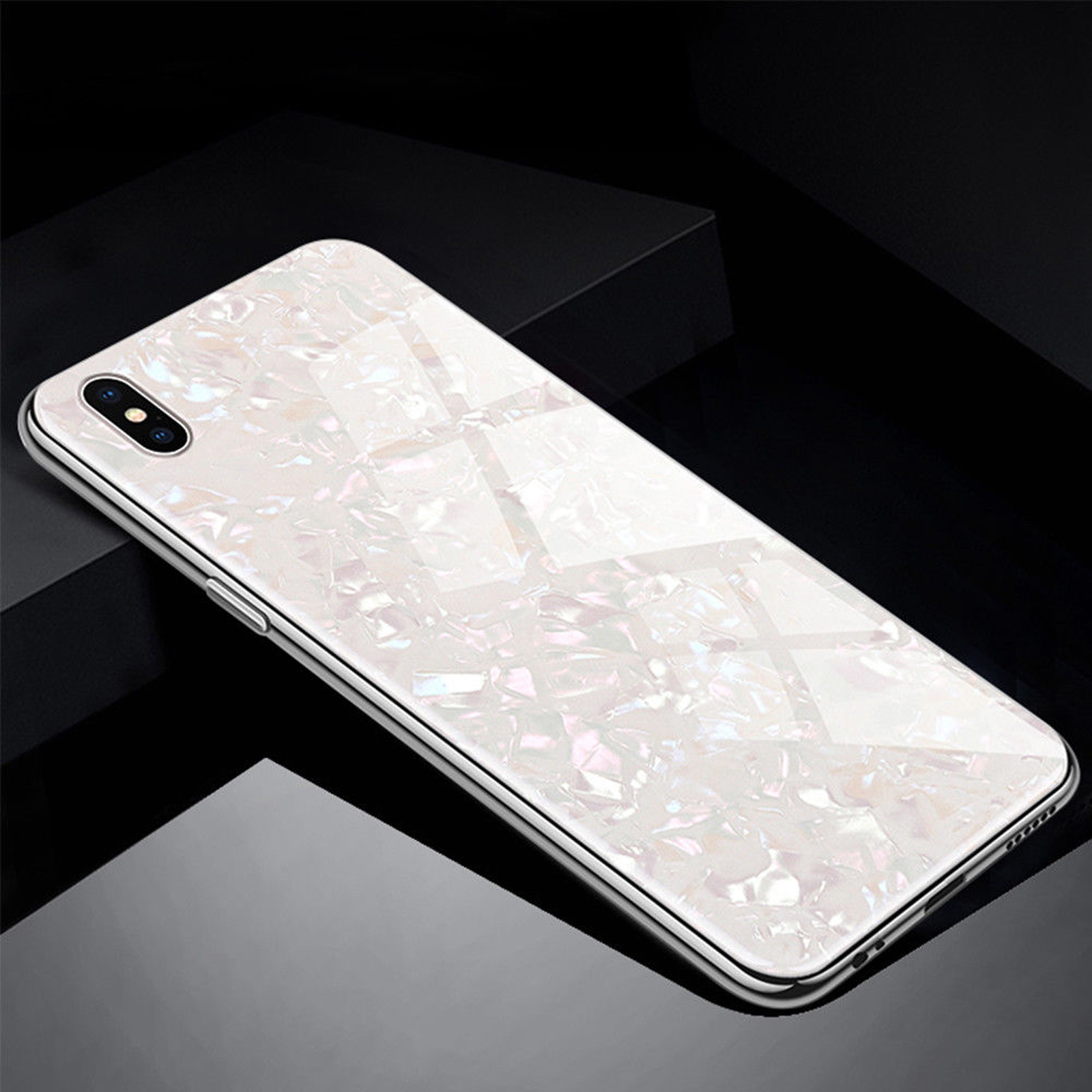 Luxury-Marble-Tempered-Glass-Case-Cover-For-Apple-iPhone-X-XS-XR-Max-10-8-7-6s-6 miniature 48