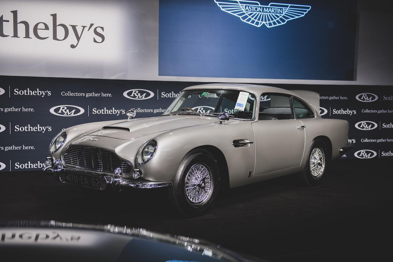 James Bond Aston Martin DB5 sells for record $6.4m