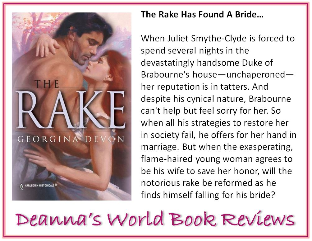 The Rake by Georgina Devon blurb
