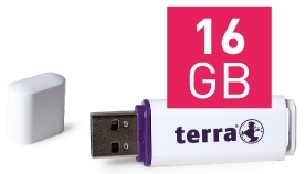 Ein von mir verwendeter USB-Speicher: der TERRA USBee mit 16 GB